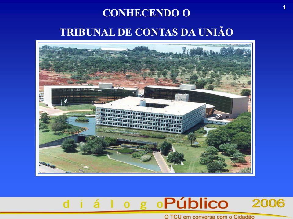 1 CONHECENDO O TRIBUNAL DE CONTAS DA UNIÃO