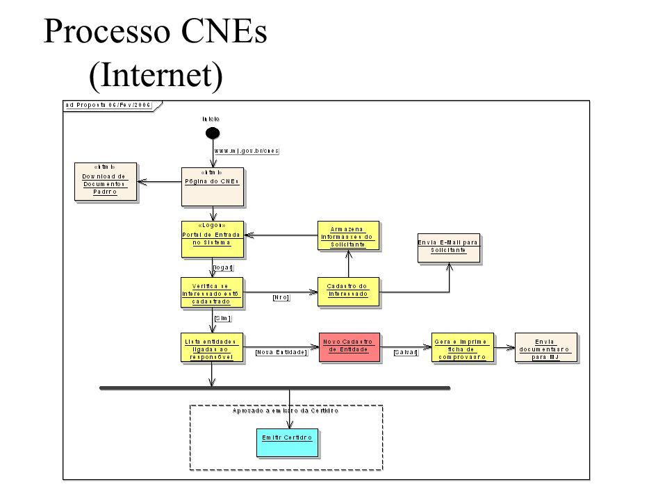 Processo CNEs (Internet)