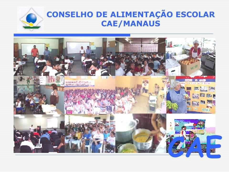 CONSELHO DE ALIMENTAÇÃO ESCOLAR CAE/MANAUS CAE