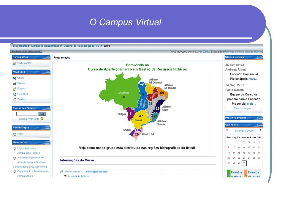 O Campus Virtual