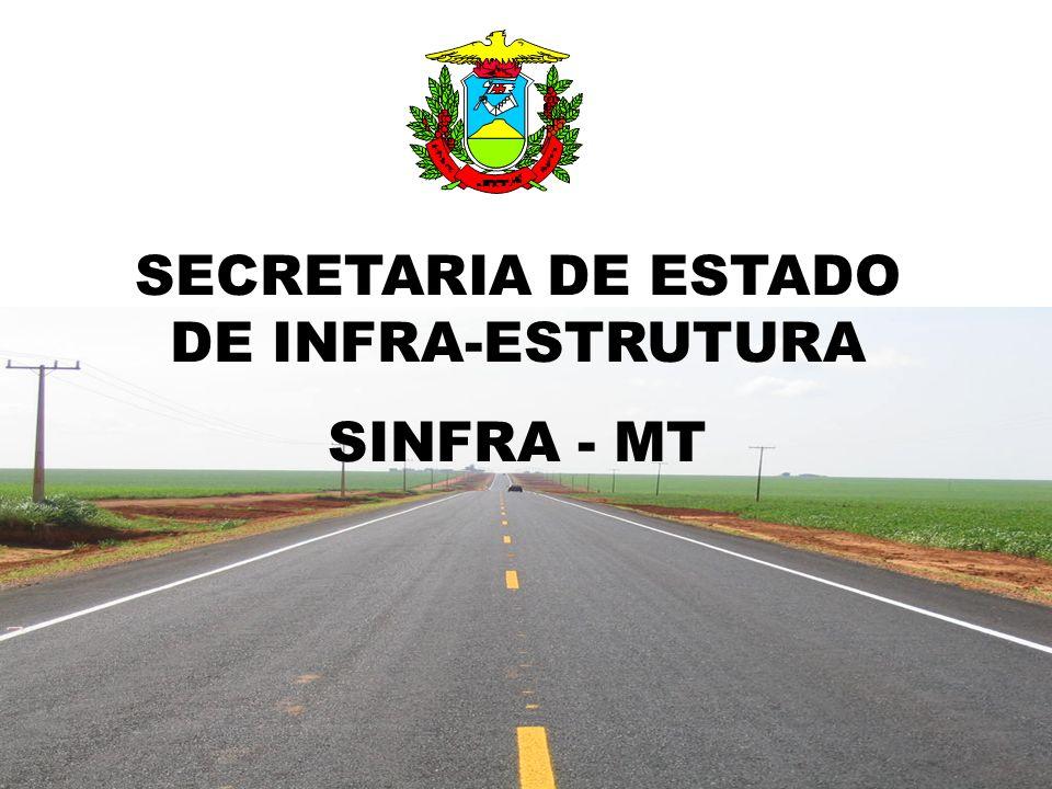 SECRETARIA DE ESTADO DE INFRA-ESTRUTURA SINFRA - MT