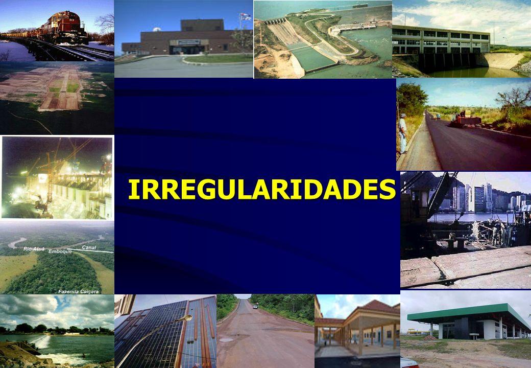IRREGULARIDADES IRREGULARIDADES