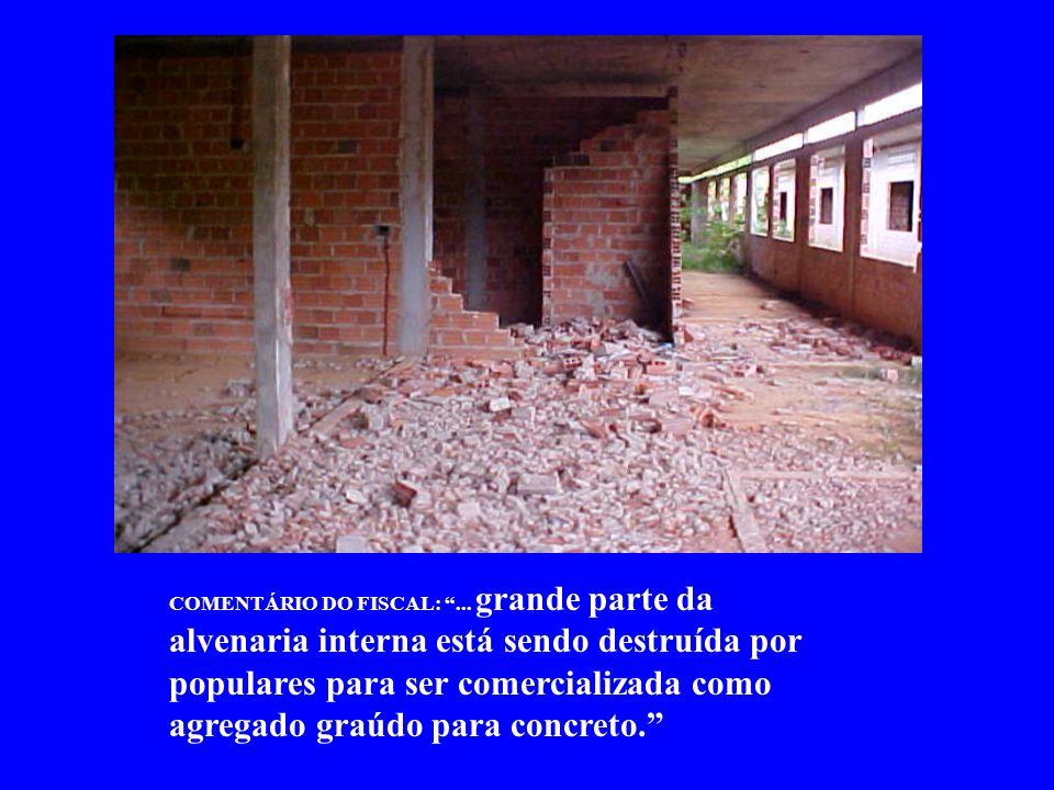 COMENTÁRIO DO FISCAL:...