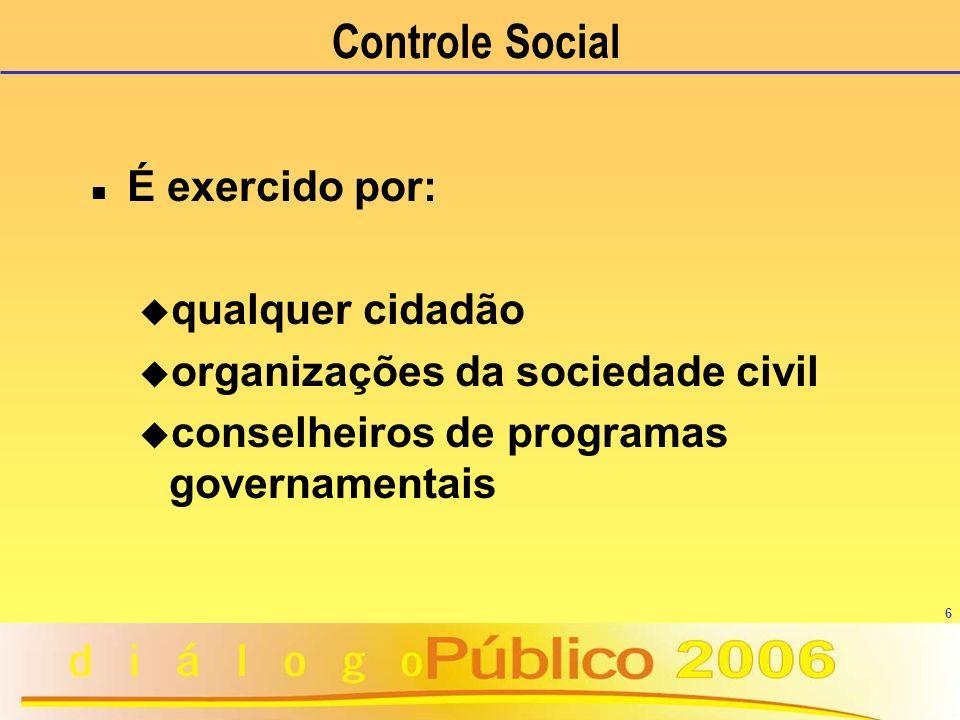 17 Uma gestão pública legal e legítima, mais que uma obrigação do gestor público, é garantia do Estado de Direito e, portanto, da cidadania.