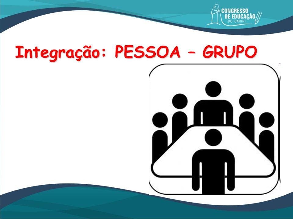 Integração: PESSOA – GRUPO