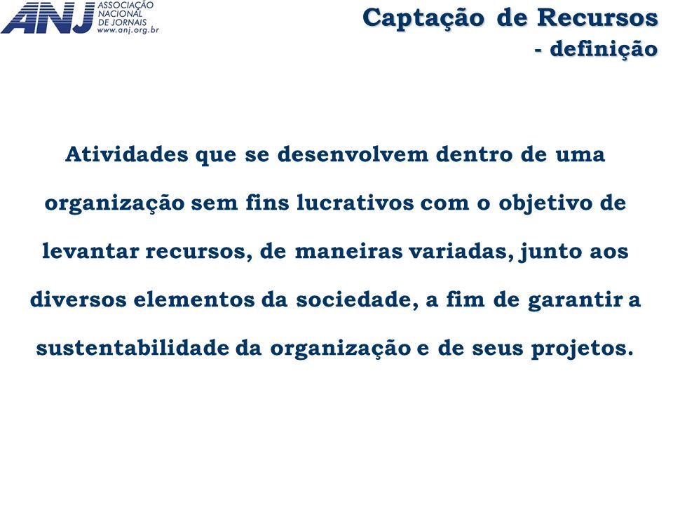 As profissões de elaborador de projetos e captador de recursos são particulares do Terceiro Setor.