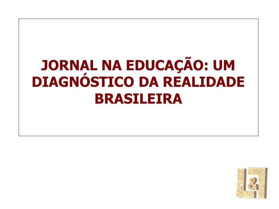 JORNAL NA EDUCAÇÃO: UM DIAGNÓSTICO DA REALIDADE BRASILEIRA