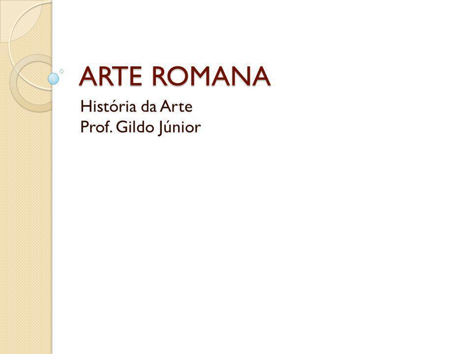 A ARTE A arte romana, referente à época artística do Império romano do ocidente, foi muito influenciada pela cultura da Grécia Antiga e estende-se do século VIII a.C ao século IV d.C.
