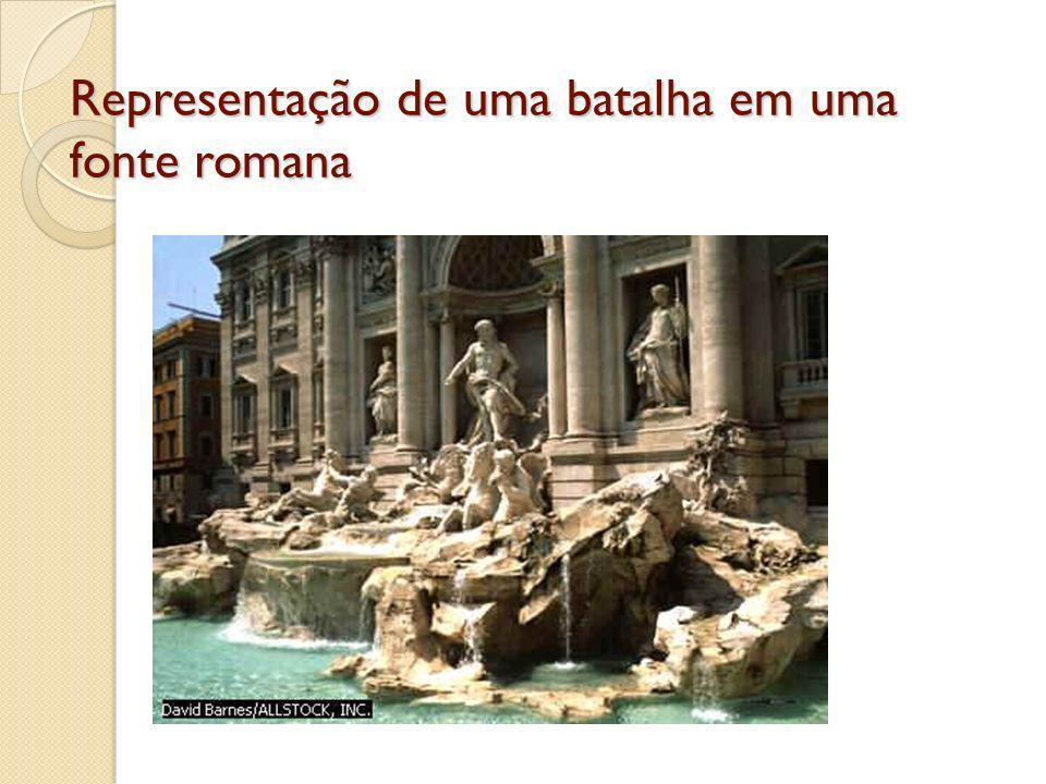 PINTURA O Mosaico foi muito utilizado na decoração dos muros e pisos da arquitetura em geral.