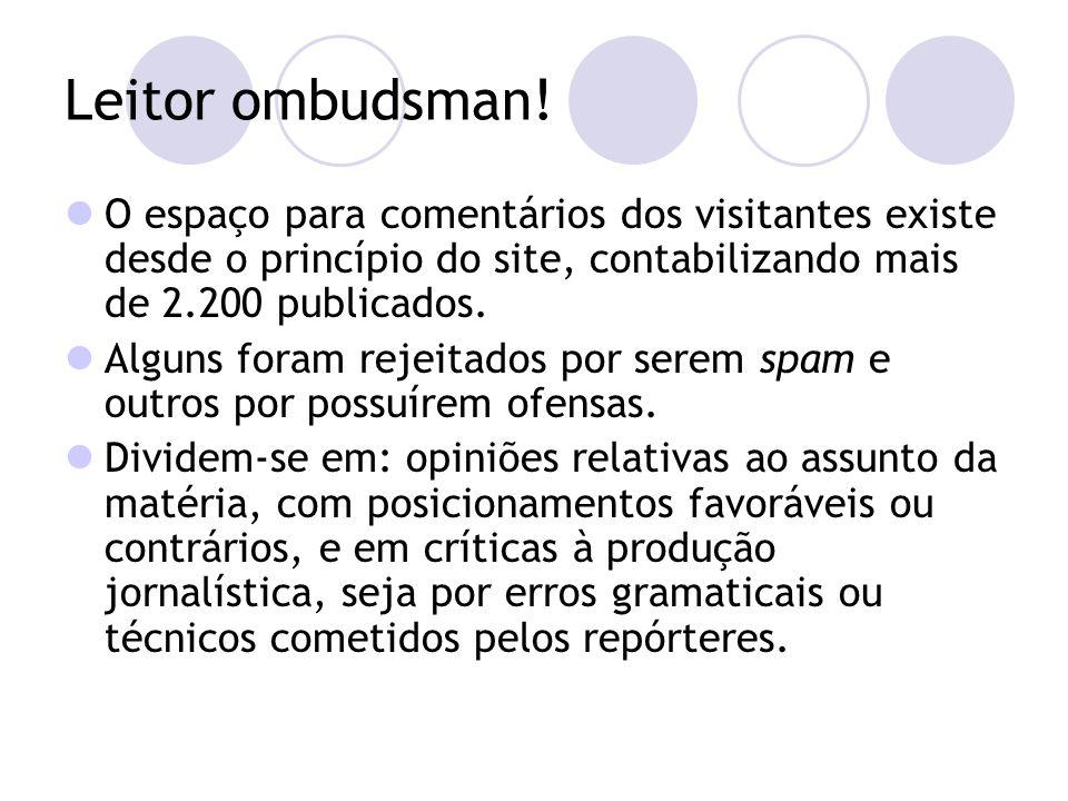 Leitor ombudsman.