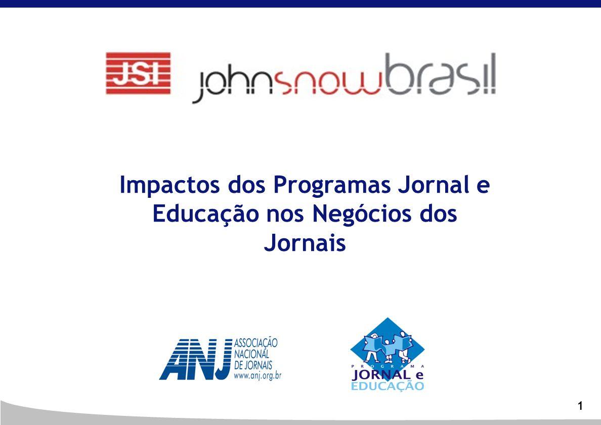 1 Impactos dos Programas Jornal e Educação nos Negócios dos Jornais