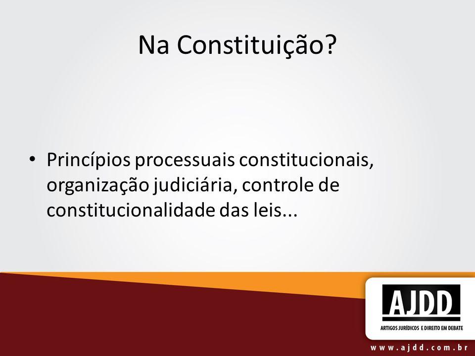 Lei processual no espaço.União legisla sobre matéria processual (art.