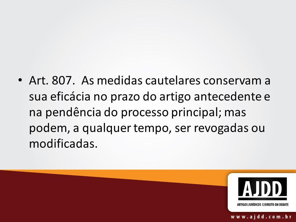 Art. 807.