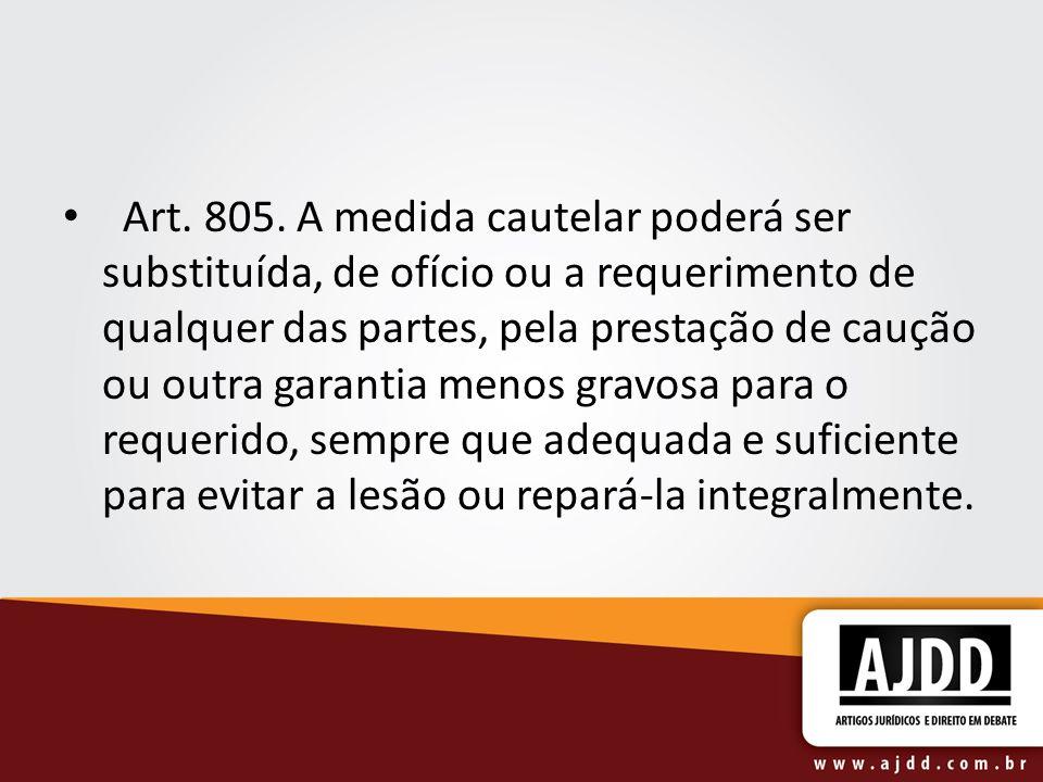 Art. 805.