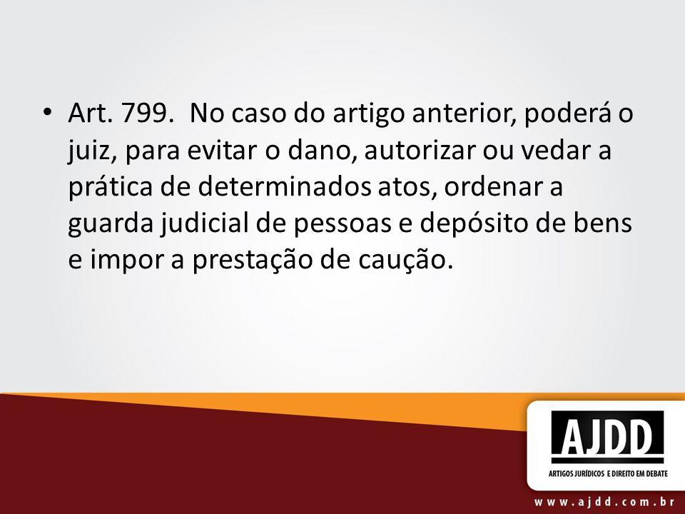 Art. 799.
