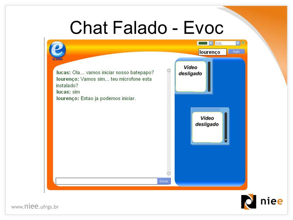 Chat Falado - Evoc
