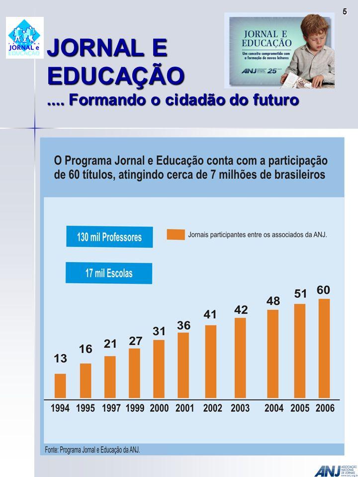 JORNAL E EDUCAÇÃO.... Formando o cidadão do futuro 5