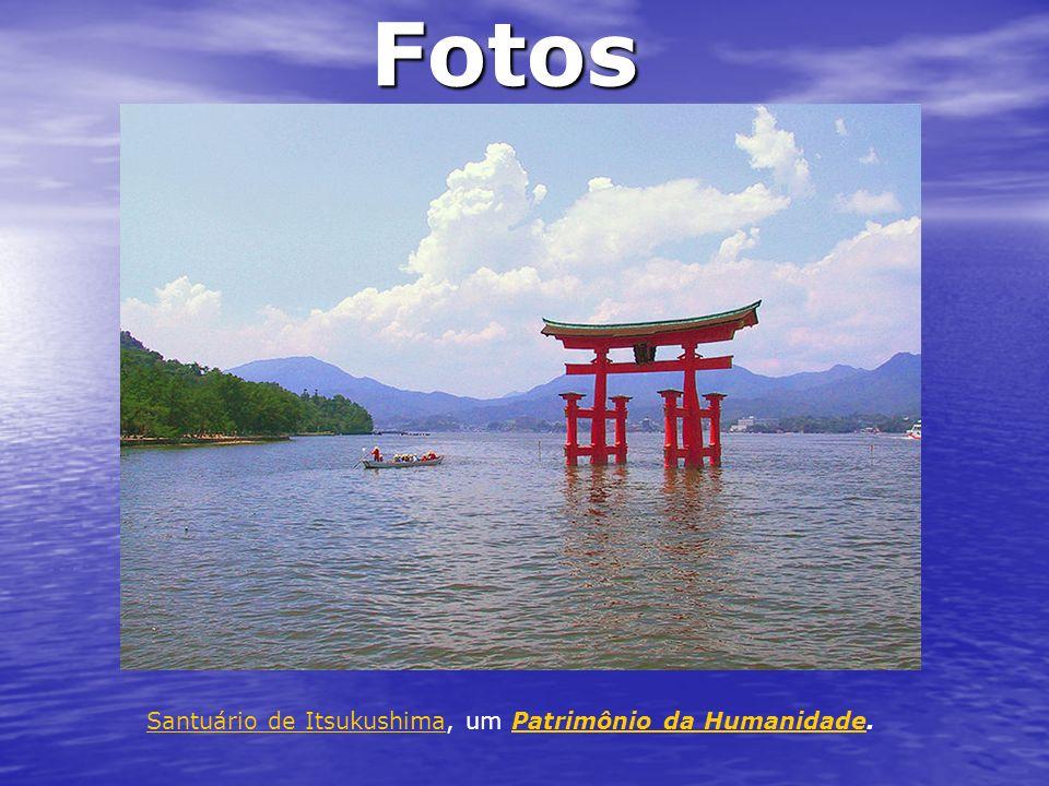 Fotos Santuário de ItsukushimaSantuário de Itsukushima, um Patrimônio da Humanidade.Patrimônio da Humanidade