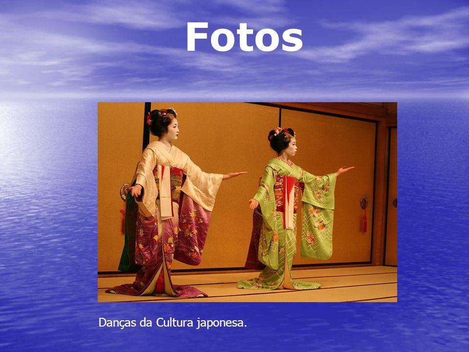 Fotos Danças da Cultura japonesa.