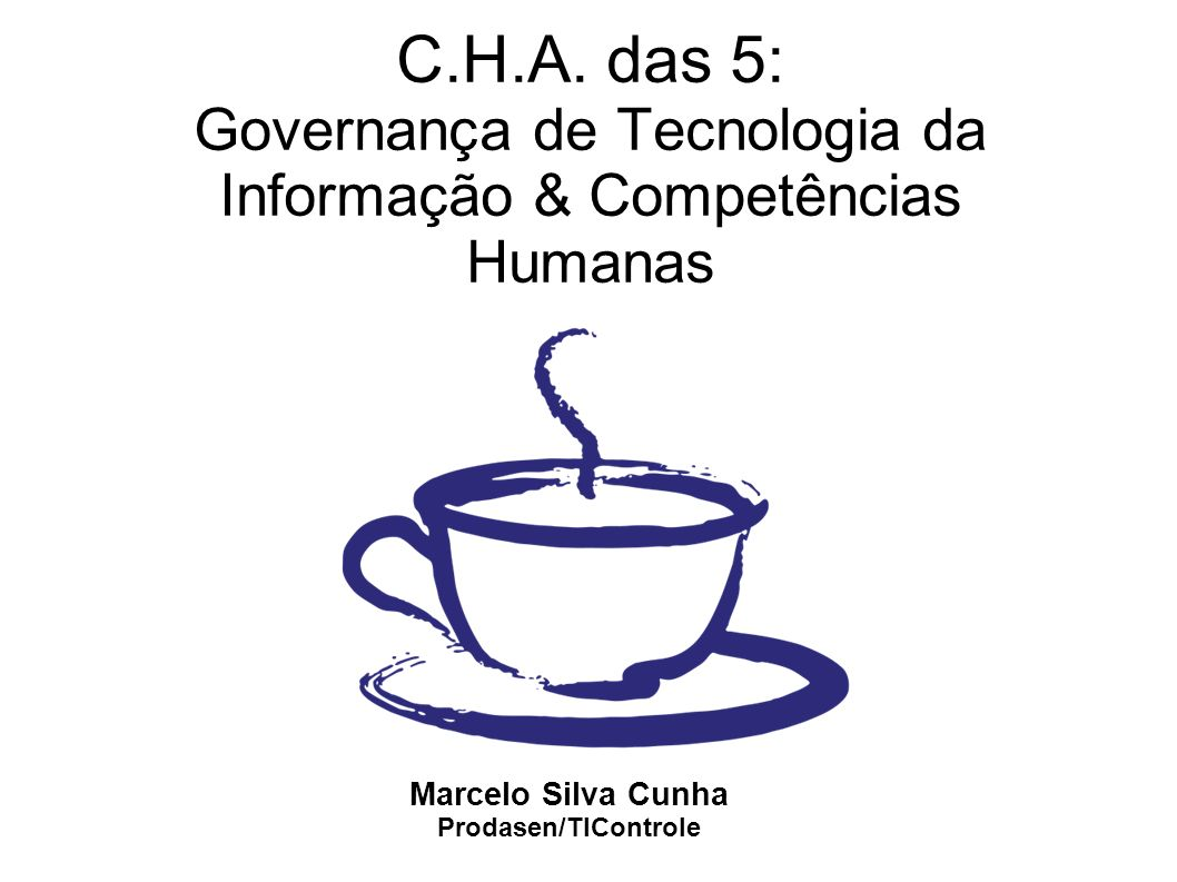 Agenda Importância da TI na Administração Pública Governança Governança de TI na APF Brasileira (visão do controle) Responsabilidade da GTI