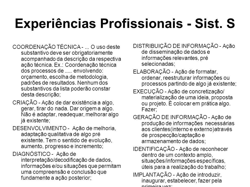 COORDENAÇÃO TÉCNICA -...