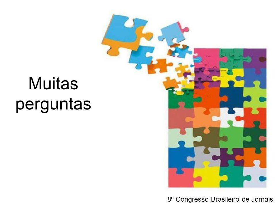Muitas perguntas 8º Congresso Brasileiro de Jornais