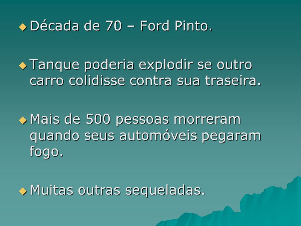 Ford Pinto?
