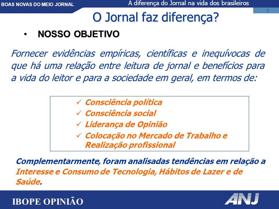 BOAS NOVAS DO MEIO JORNAL 3 O Jornal faz diferença.