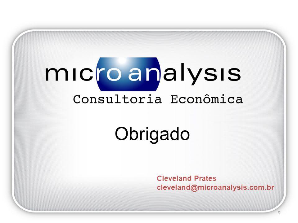 Cleveland Prates cleveland@microanalysis.com.br Obrigado 9