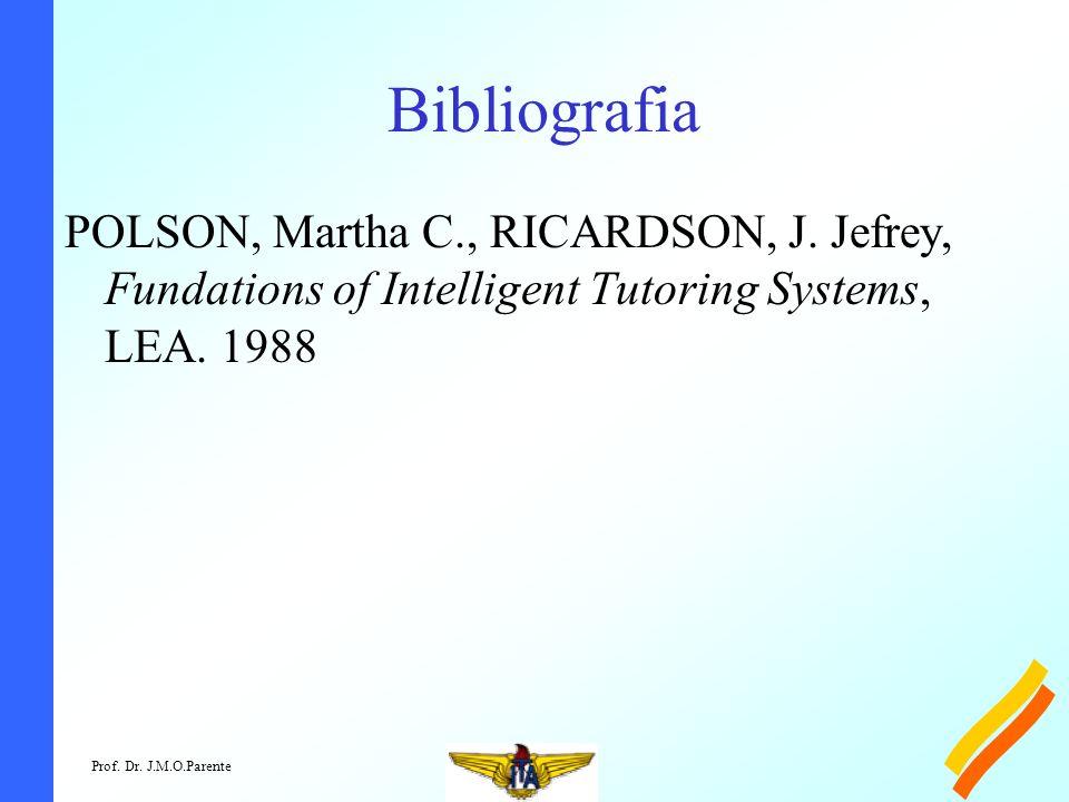 Prof. Dr. J.M.O.Parente Bibliografia POLSON, Martha C., RICARDSON, J.