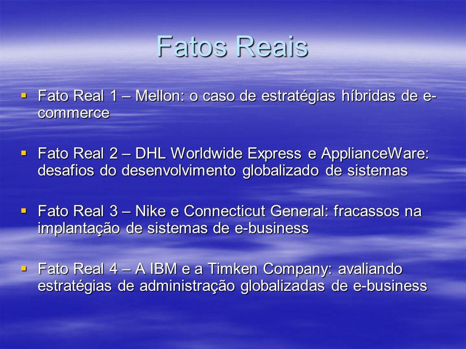 Fatos Reais Fato Real 1 – Mellon: o caso de estratégias híbridas de e- commerce Fato Real 1 – Mellon: o caso de estratégias híbridas de e- commerce Fa