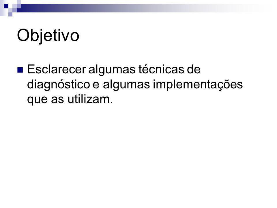 Roteiro Introdução Árvores de Decisão Gere e Teste Diagnóstico Interativo Conclusão