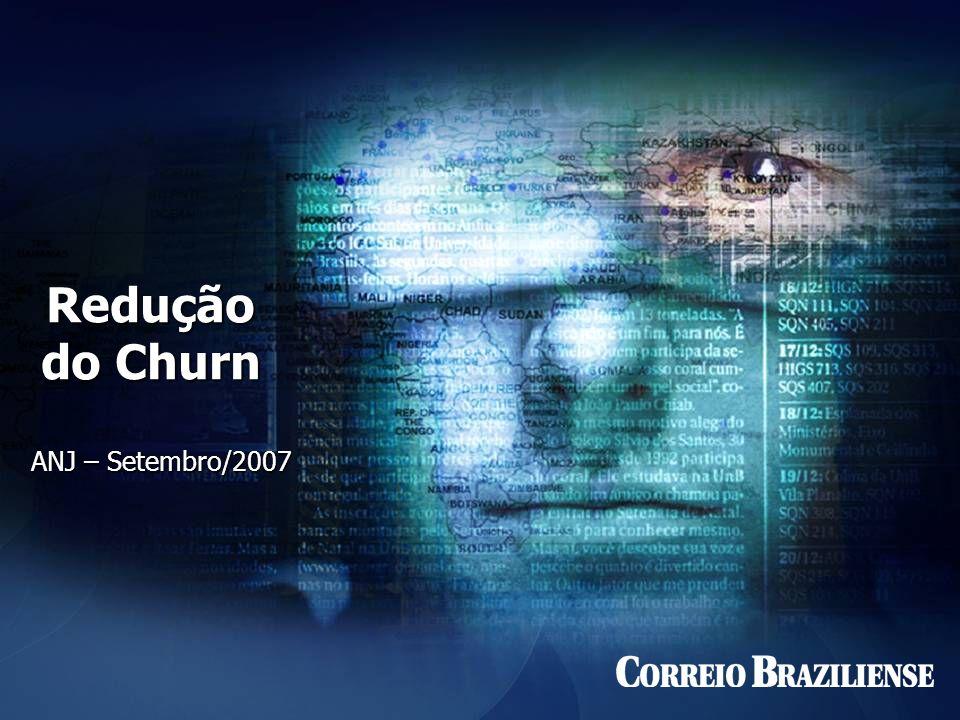 Redução do Churn ANJ – Setembro/2007