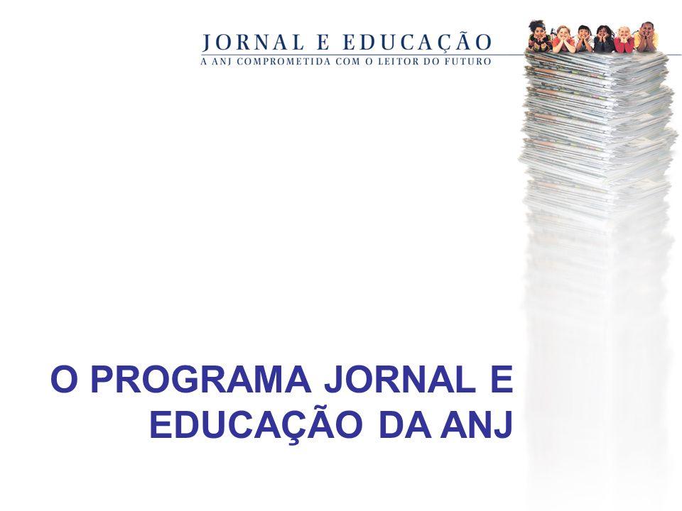 O PROGRAMA JORNAL E EDUCAÇÃO DA ANJ
