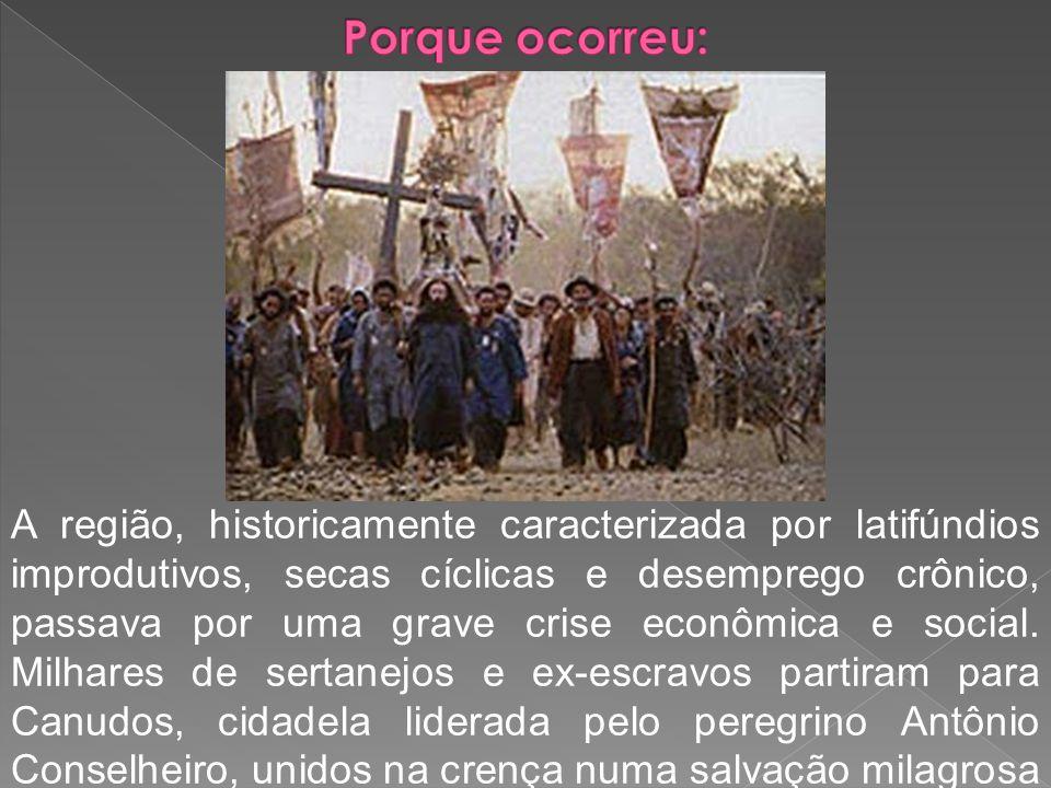 A região, historicamente caracterizada por latifúndios improdutivos, secas cíclicas e desemprego crônico, passava por uma grave crise econômica e soci