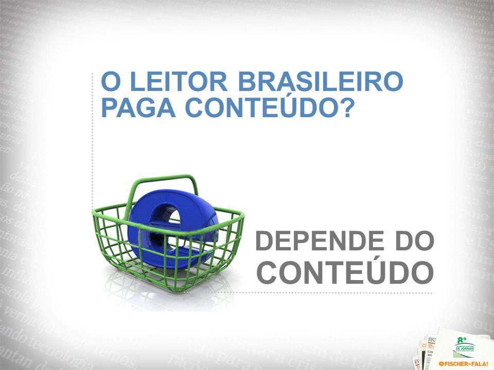 O LEITOR BRASILEIRO PAGA CONTEÚDO? DEPENDE DO CONTEÚDO