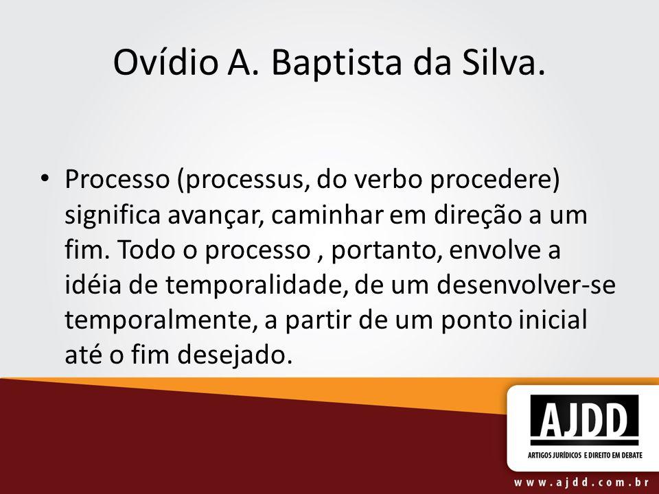 Ovídio A. Baptista da Silva.