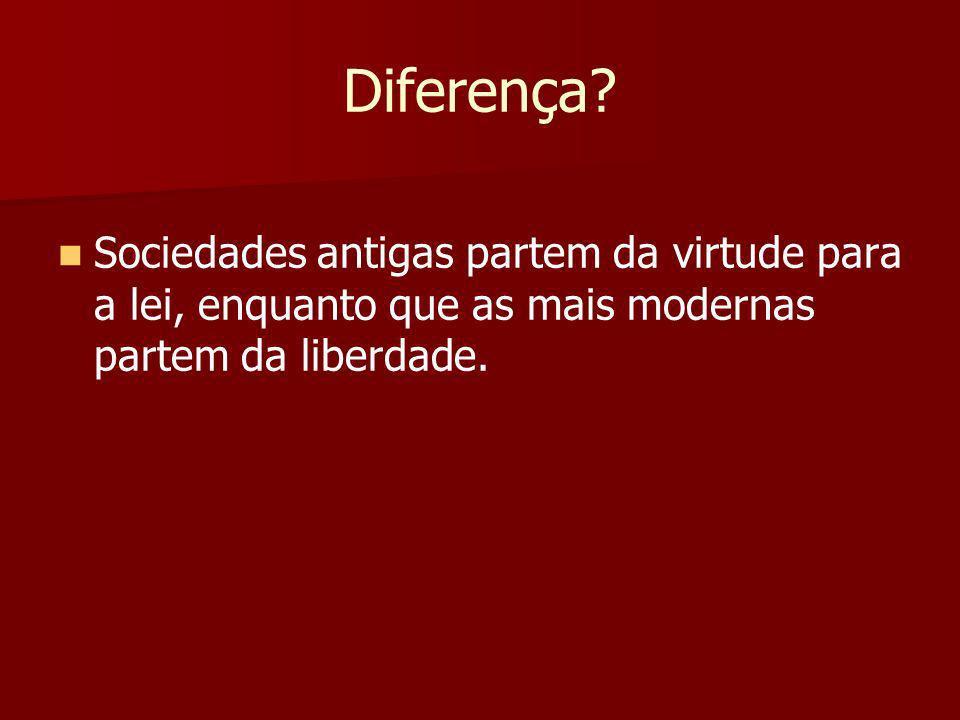 Diferença.