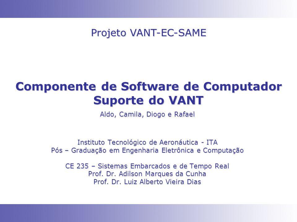 Componente de Software de Computador Suporte do VANT Instituto Tecnológico de Aeronáutica - ITA Pós – Graduação em Engenharia Eletrônica e Computação