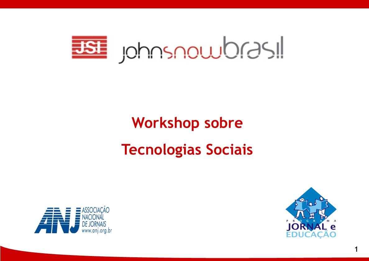 1 Workshop sobre Tecnologias Sociais