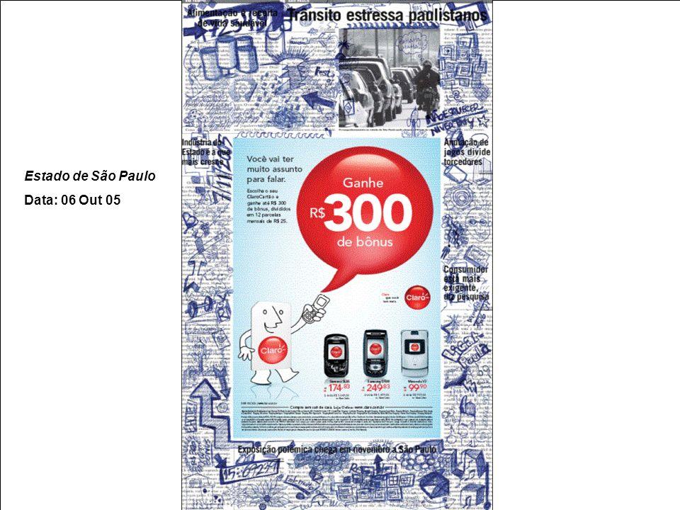 16 CORPORATIVO – PRODUTO/ SERVIÇO Anúncio Edge – Jornal Valor Econômico Período da Ação: 02Ago 2004 Objetivo:Mostrar e tangibilizar a rapidez da tecnologia Edge para transmissão de dados.