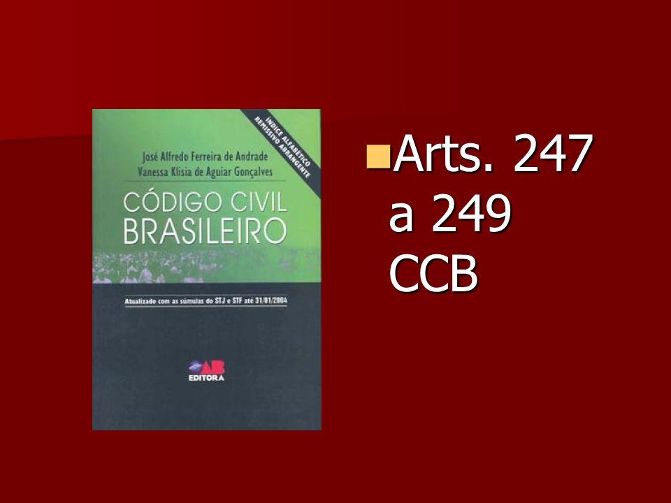 Arts. 247 a 249 CCB Arts. 247 a 249 CCB
