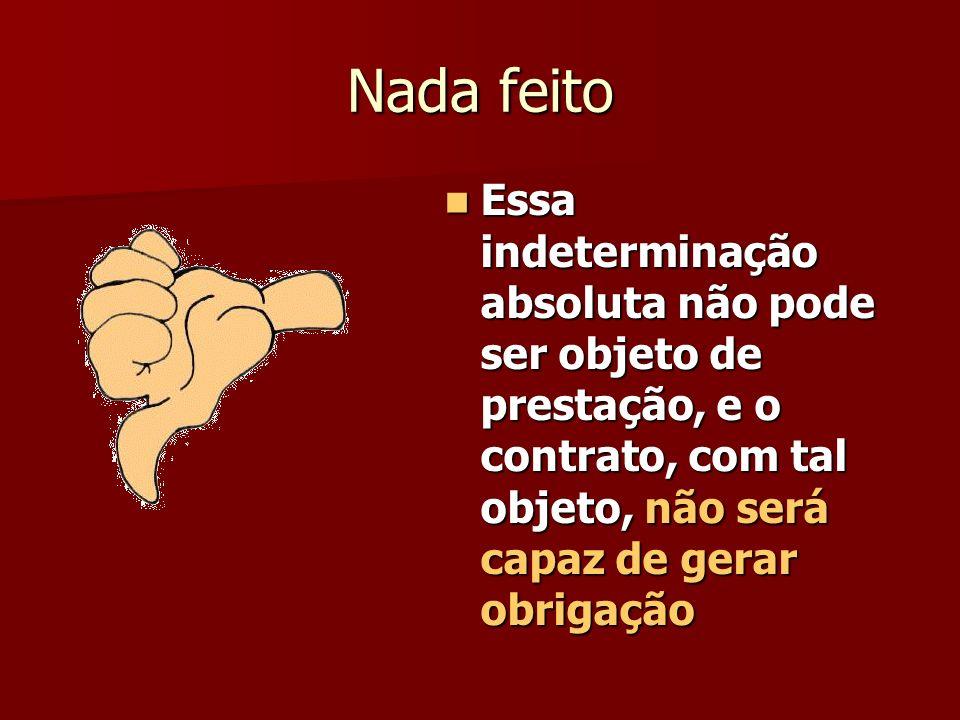 A lei brasileira não distingue os efeitos de ambos A lei brasileira não distingue os efeitos de ambos