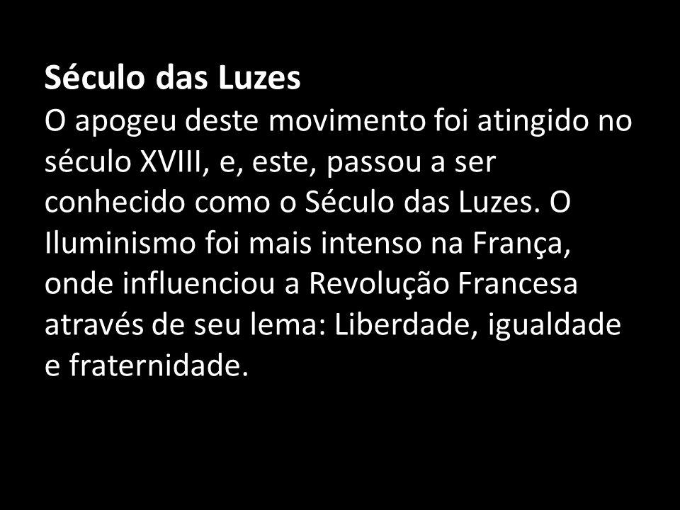 Também teve influência em outros movimentos sociais como na independência das colônias inglesas na América do Norte e na Inconfidência Mineira,ocorrida no Brasil.