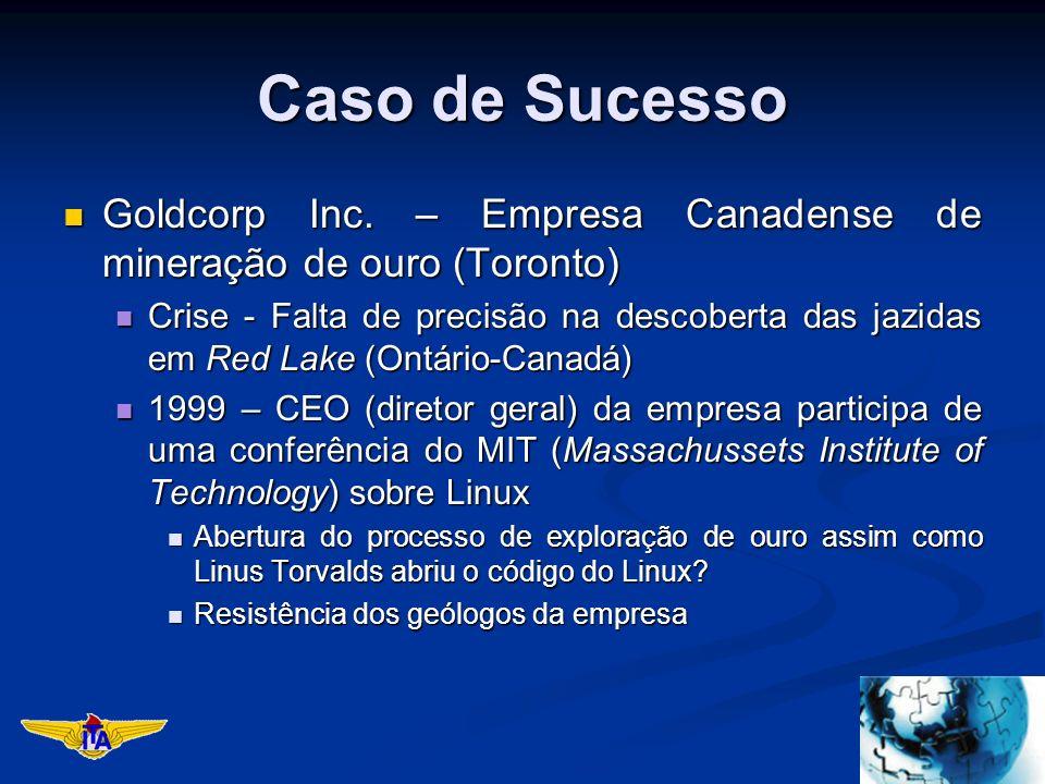 Caso de Sucesso Goldcorp Inc. – Empresa Canadense de mineração de ouro (Toronto) Goldcorp Inc. – Empresa Canadense de mineração de ouro (Toronto) Cris