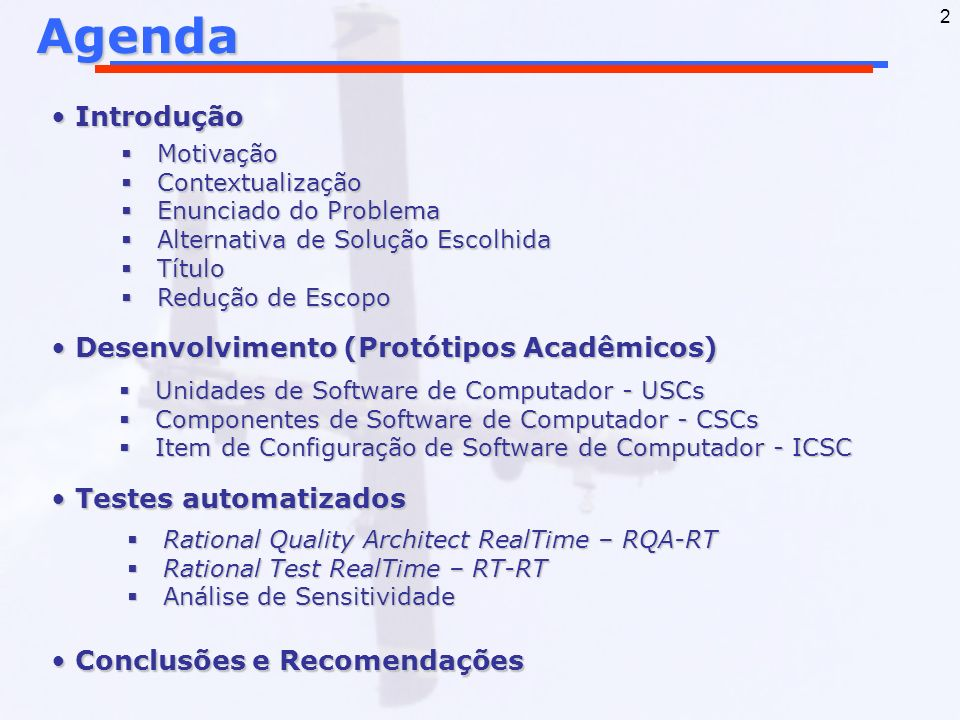 2Agenda Introdução Introdução Desenvolvimento (Protótipos Acadêmicos) Desenvolvimento (Protótipos Acadêmicos) Testes automatizados Testes automatizado