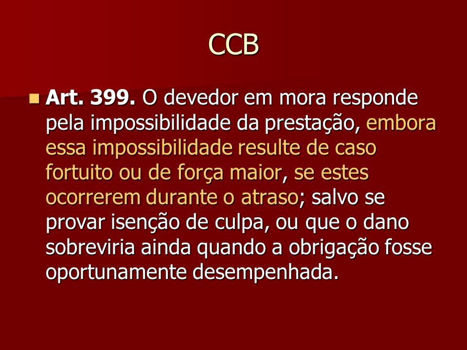 CCB Art. 399.