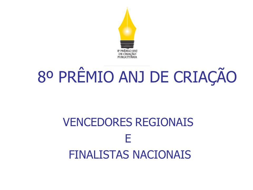 FINALISTA – VENCEDOR REGIÃO SÃO PAULO - PROFISSIONAIS A Região São Paulo recebeu 160 inscrições.