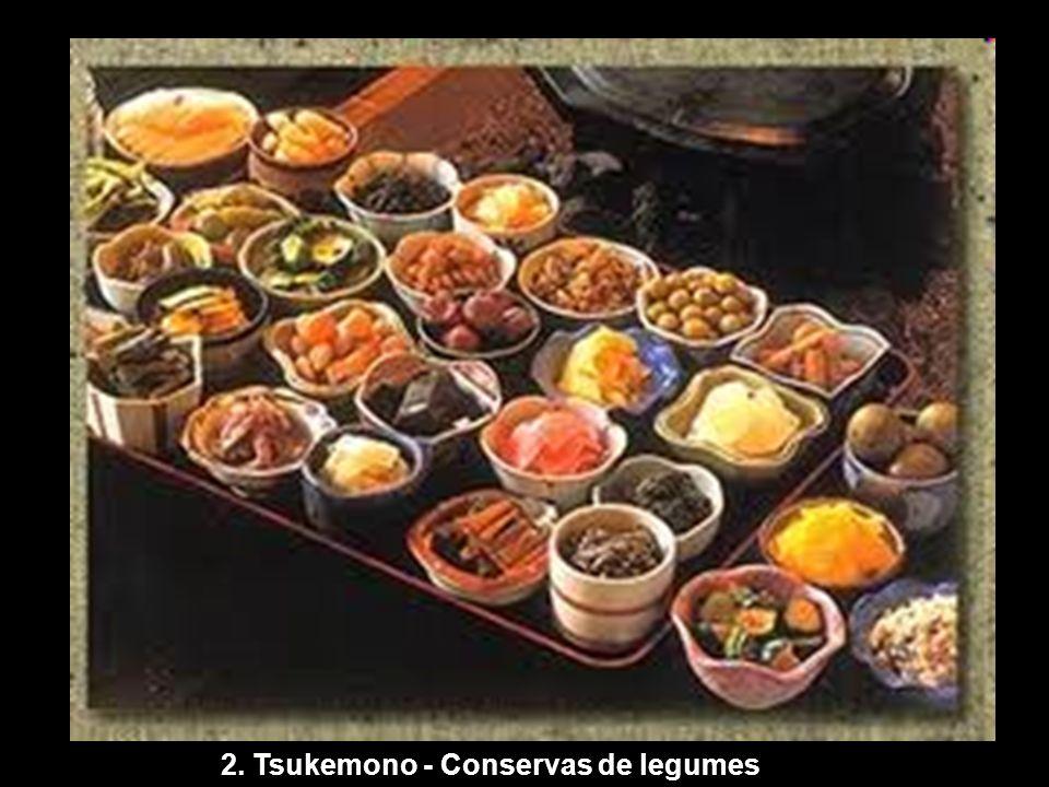 2. Tsukemono - Conservas de legumes