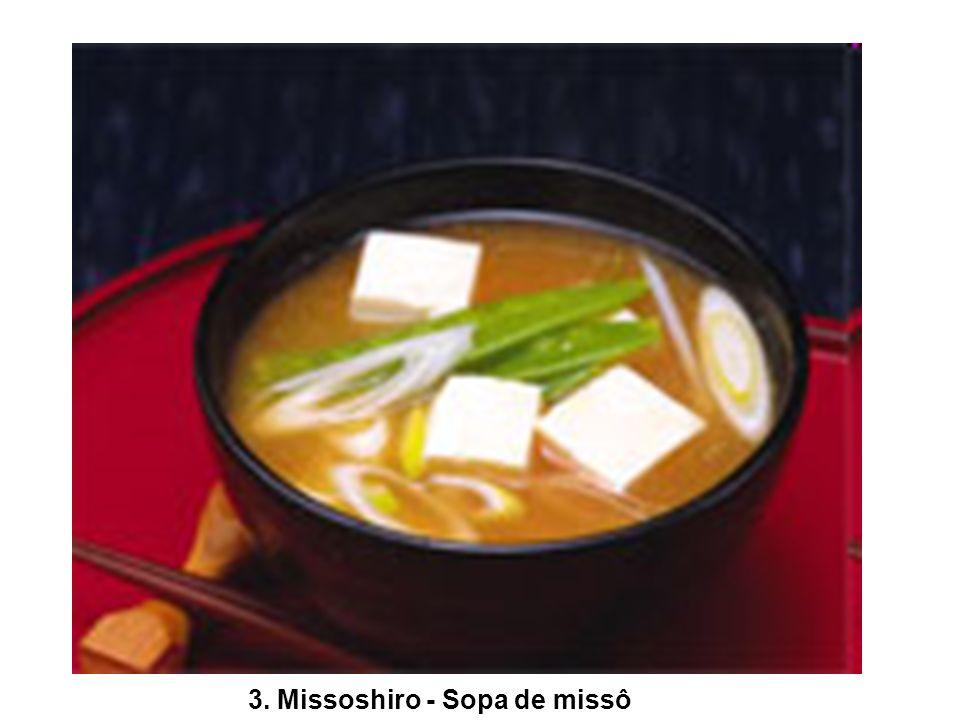 3. Missoshiro - Sopa de missô